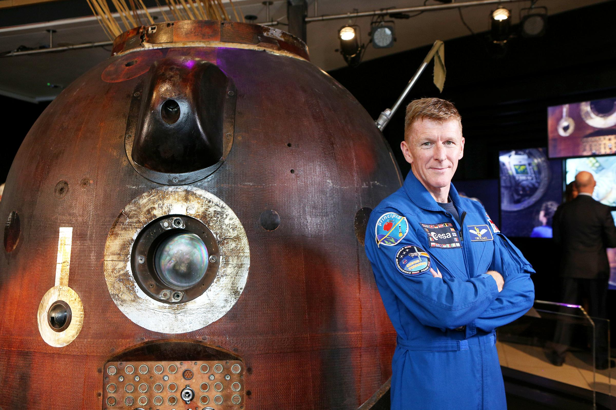 Tim Peake spaceship attracts 110,000 visits to National Science and Media Museum, Bradford