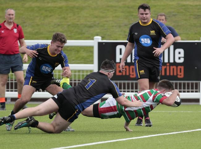 Allan Ebbrell scored Keighley's only try in their defeat at Hullensians