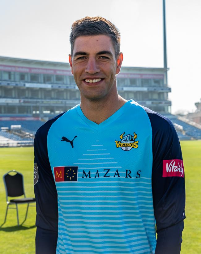 Duanne Olivier has added a new dimension to Yorkshire's attack, according to Ben Coad     Picture: Ray Spencer