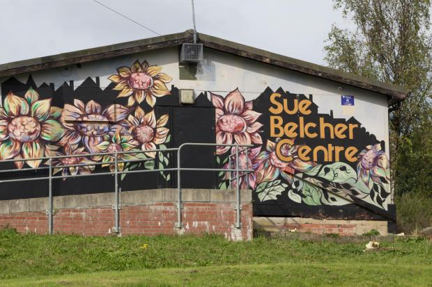 Bradford Telegraph and Argus: The Sue Belcher Centre in Bracken Bank after it was repainted by NCS volunteers and residents