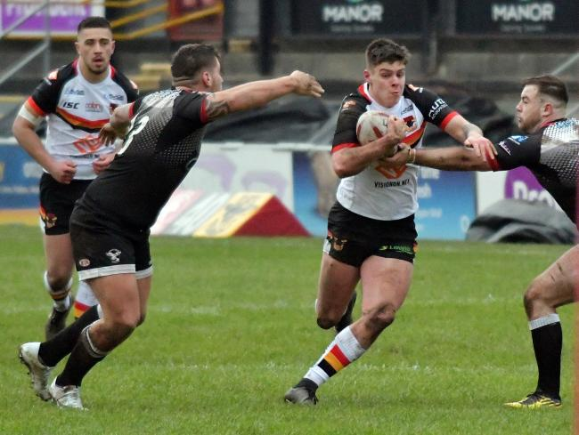 Josh Rickett claimed a brace for the Bulls reserves at Keighley