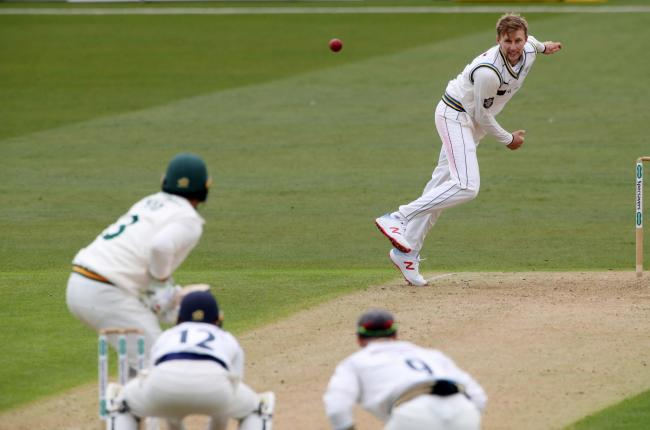 Joe Root bowls for Yorkshire in a County Championship clash at Trent Bridge against Nottinghamshire back in April 2019. Picture: Nick Potts/PA Wire.