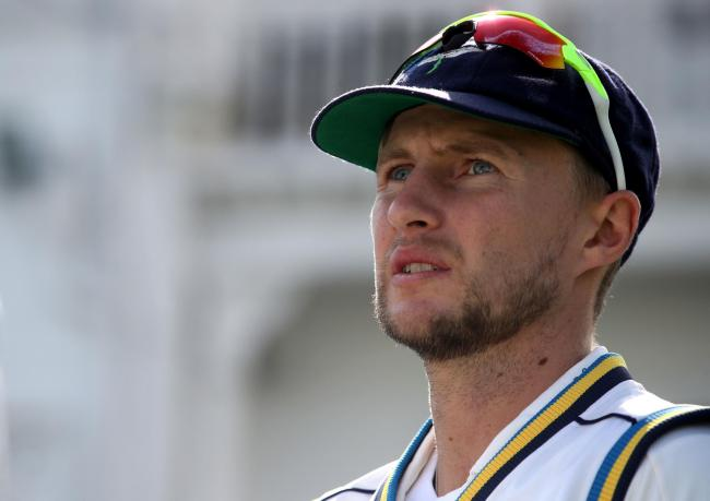 Joe Root had a miserable day with the bat for Yorkshire, dismissed for just five on day one. Picture: Nick Potts/PA Wire.
