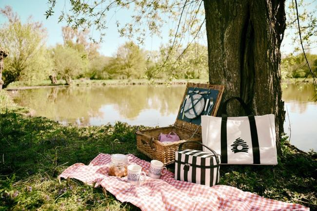 A posh picnic, unlike the ones we have. Picture: Pixabay