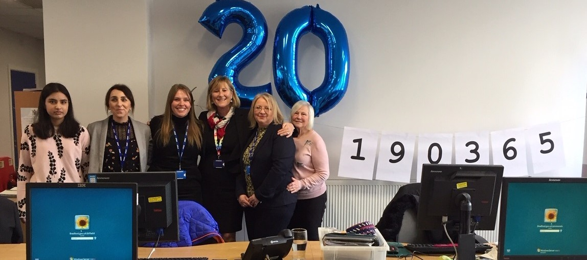 Xperience staff celebrate 20 years of the service