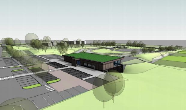 Bradford Telegraph and Argus: An artist's impression of Wyke Sports Village