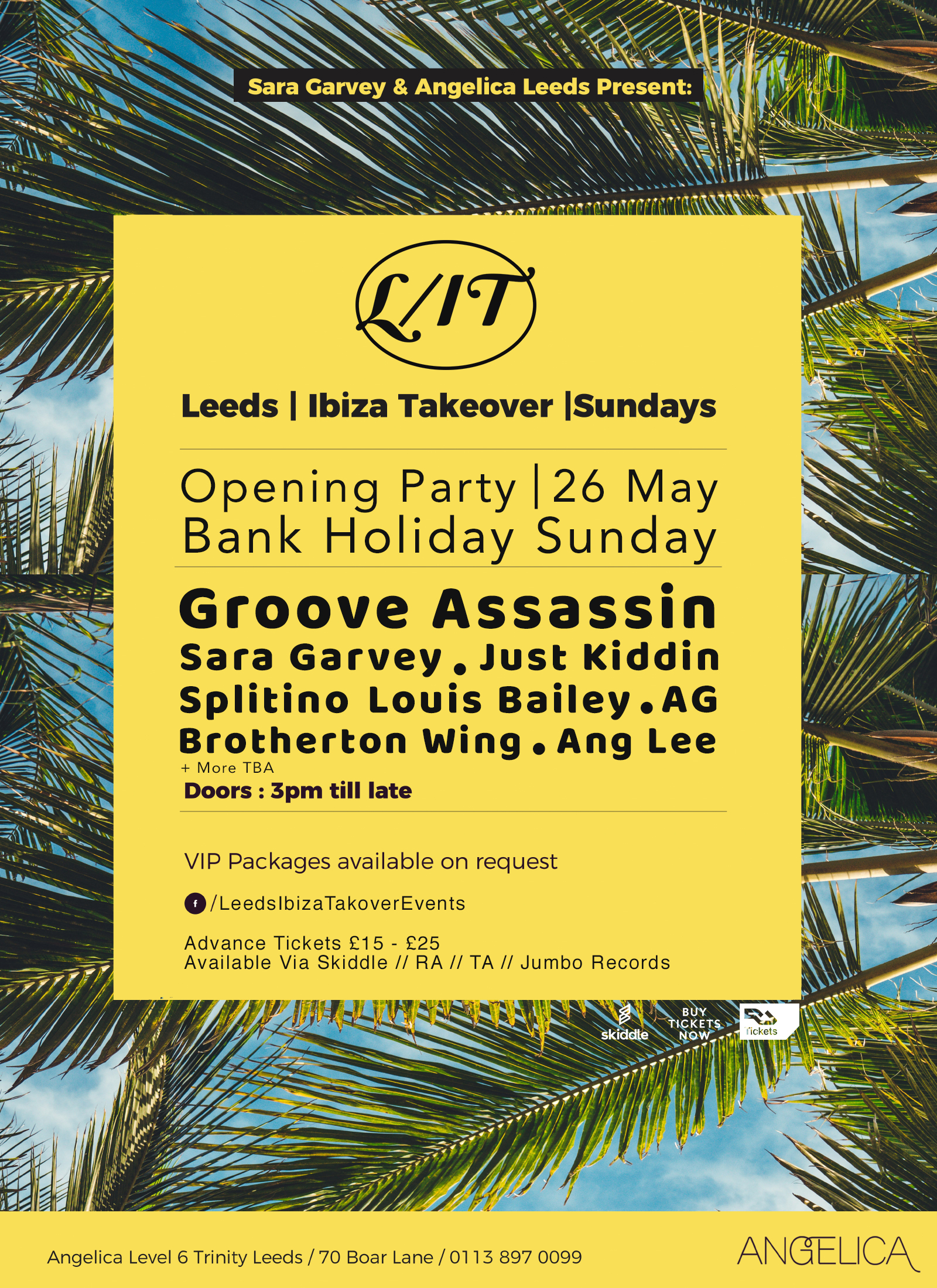 L/IT Ibiza Takeover Summer 2019 Opening Party