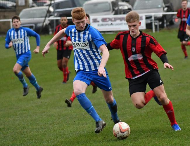 Marcus Day, right, scored in Campion;s 1-0 win at Hallam