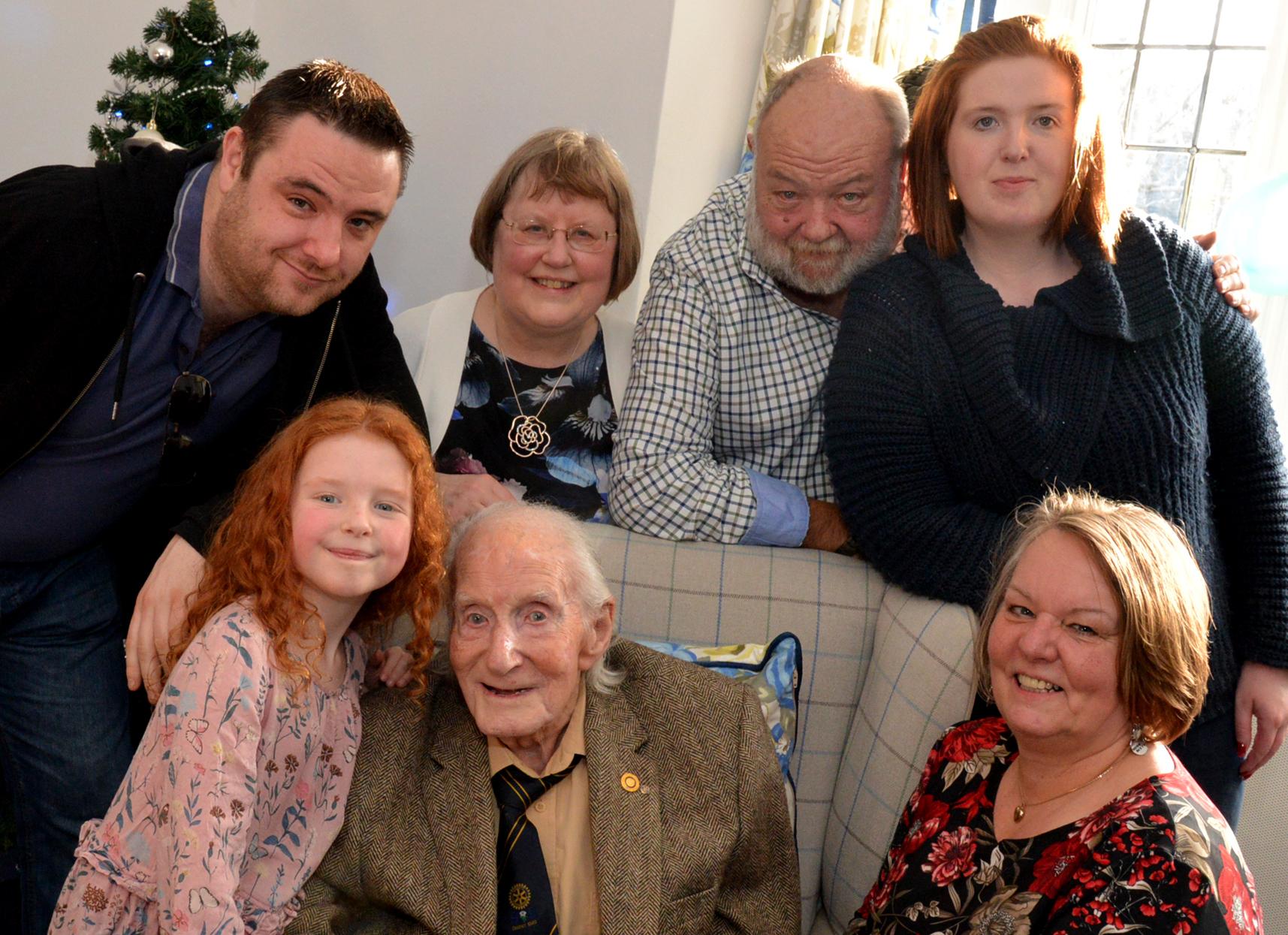 Tom Greenwood, World War Two veteran, dies aged 100