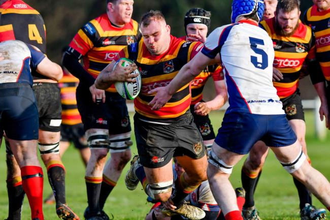 Tom Cummins was among the try scorers for Bradford & Bingley in their 39-26 defeat at Scarborough