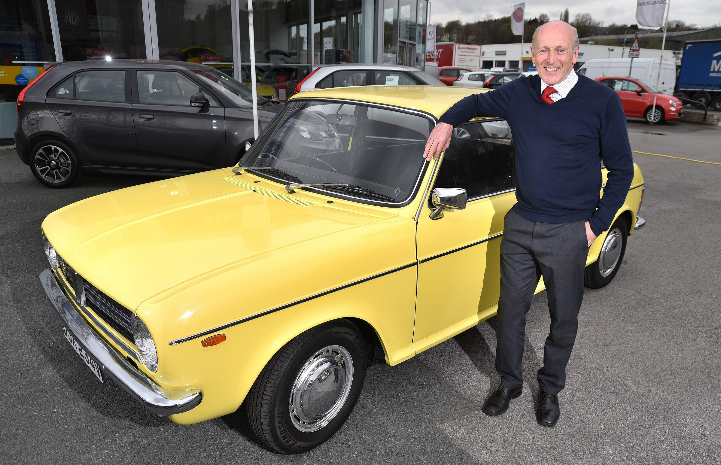 Bradford car expert saves old friend's Austin in fitting tribute