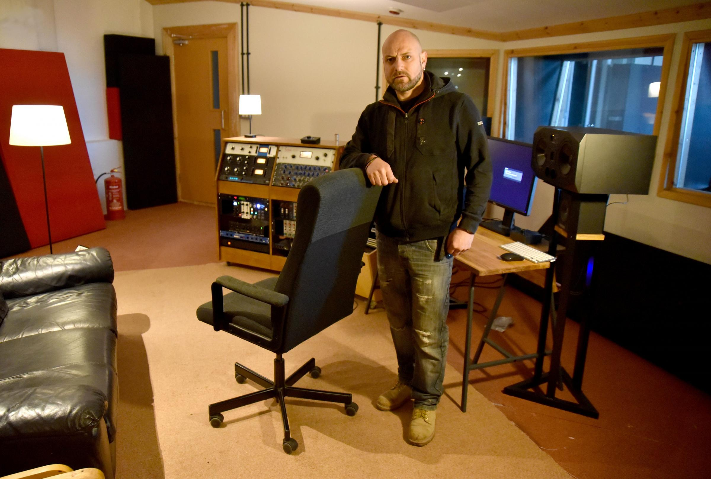 Studio owner Jason Brooks to open new Tapestry music venue in Dudley Hill