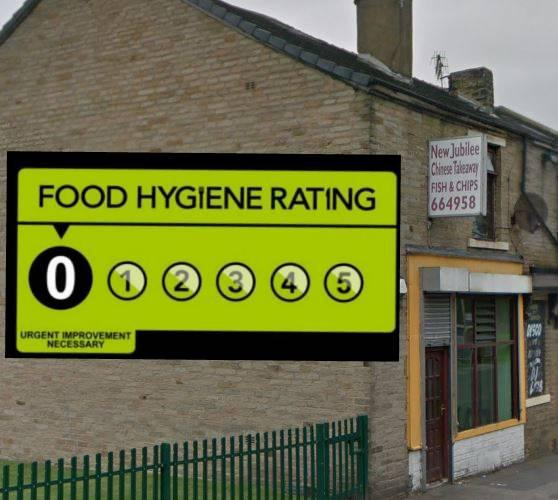 This Chinese takeaway is the latest Bradford food business rated ZERO for hygiene