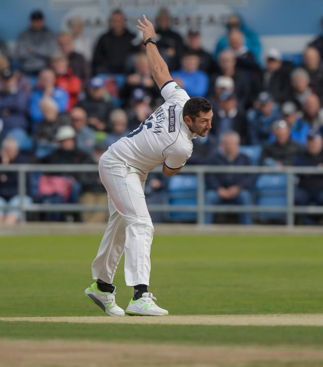 Tim Bresnan claimed two wickets against Warwickshire. Picture: Ray Spencer