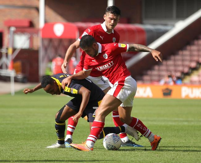 Barnsley's Alex Mowatt scored in his side's win over Shrewsbury Town. Picture: Richard Parkes