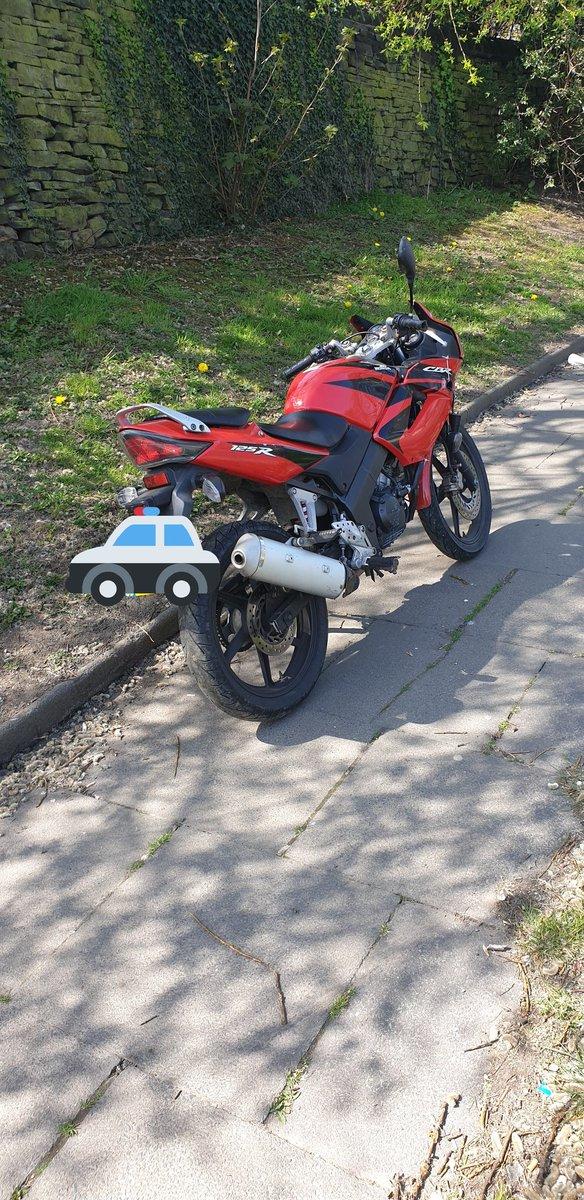 Motorbike stolen in Leeds is found in Bradford