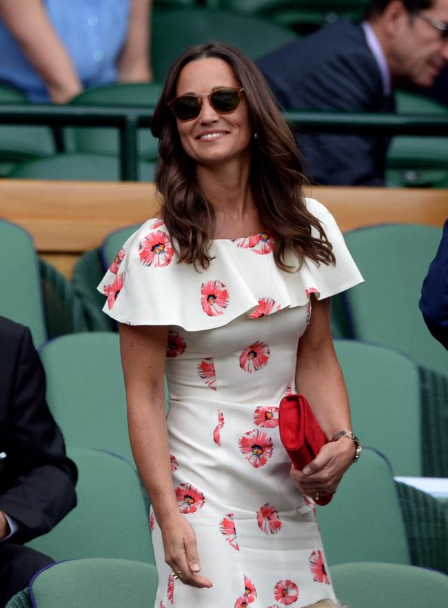 How much effort did Pippa put in to look this stylish? Picture: Anthony Devlin/PA.