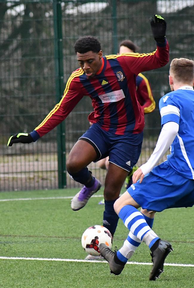Jermaine Moyce was among the goals for St Bede's in their win over Wibsey