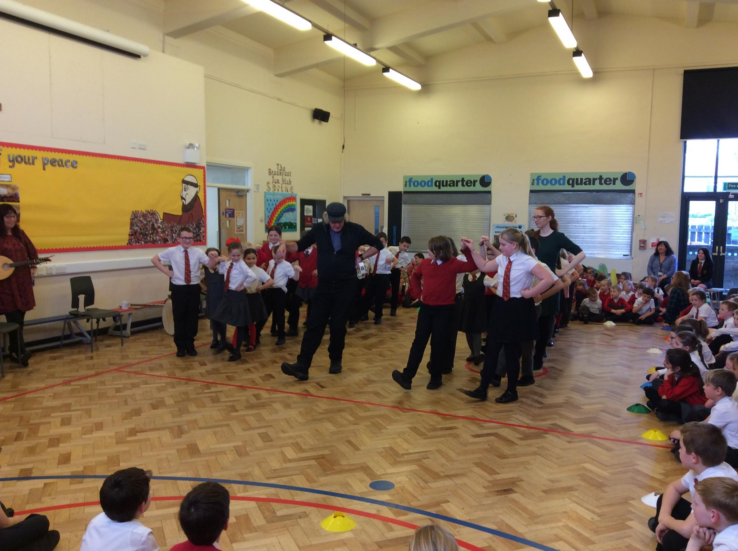 Music in March makes marvellous pupils merry with excitement