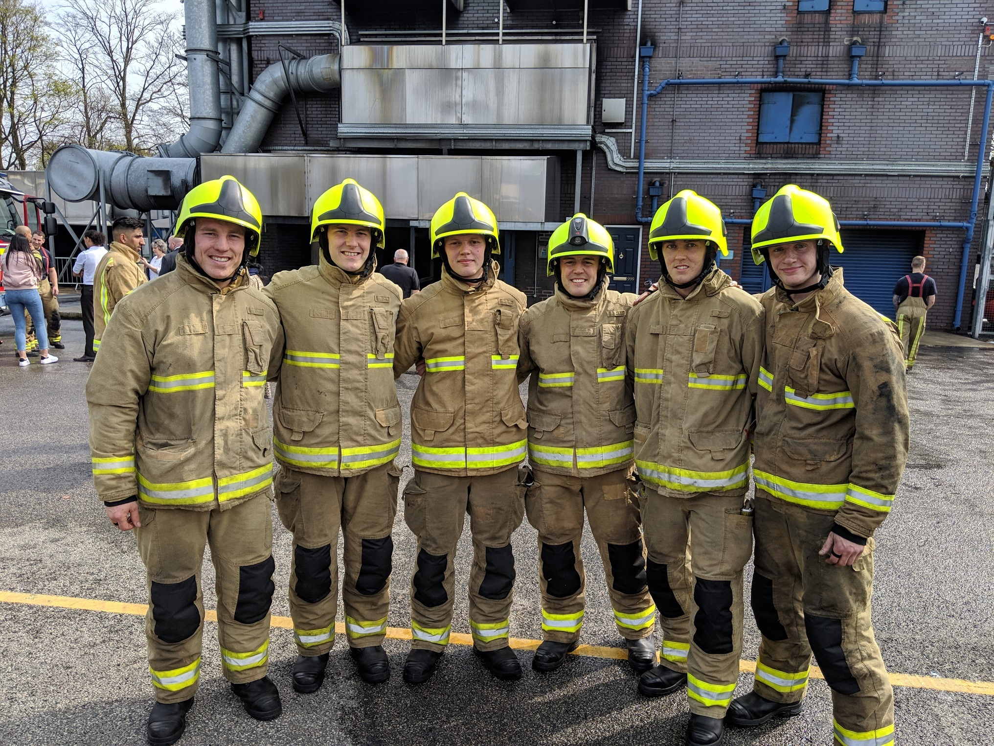 Firefighter graduates to join Silsden and Otley stations