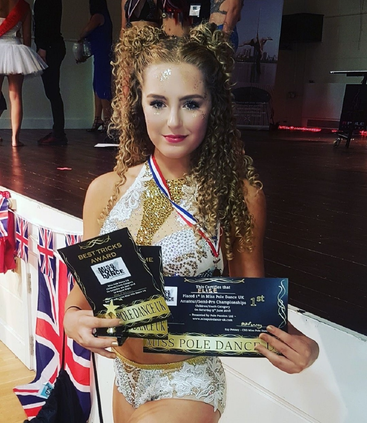 Pole position: Bradford teenager talks about her passion for pole fitness