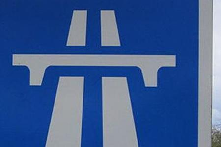 Car in 'perilous' position on M62