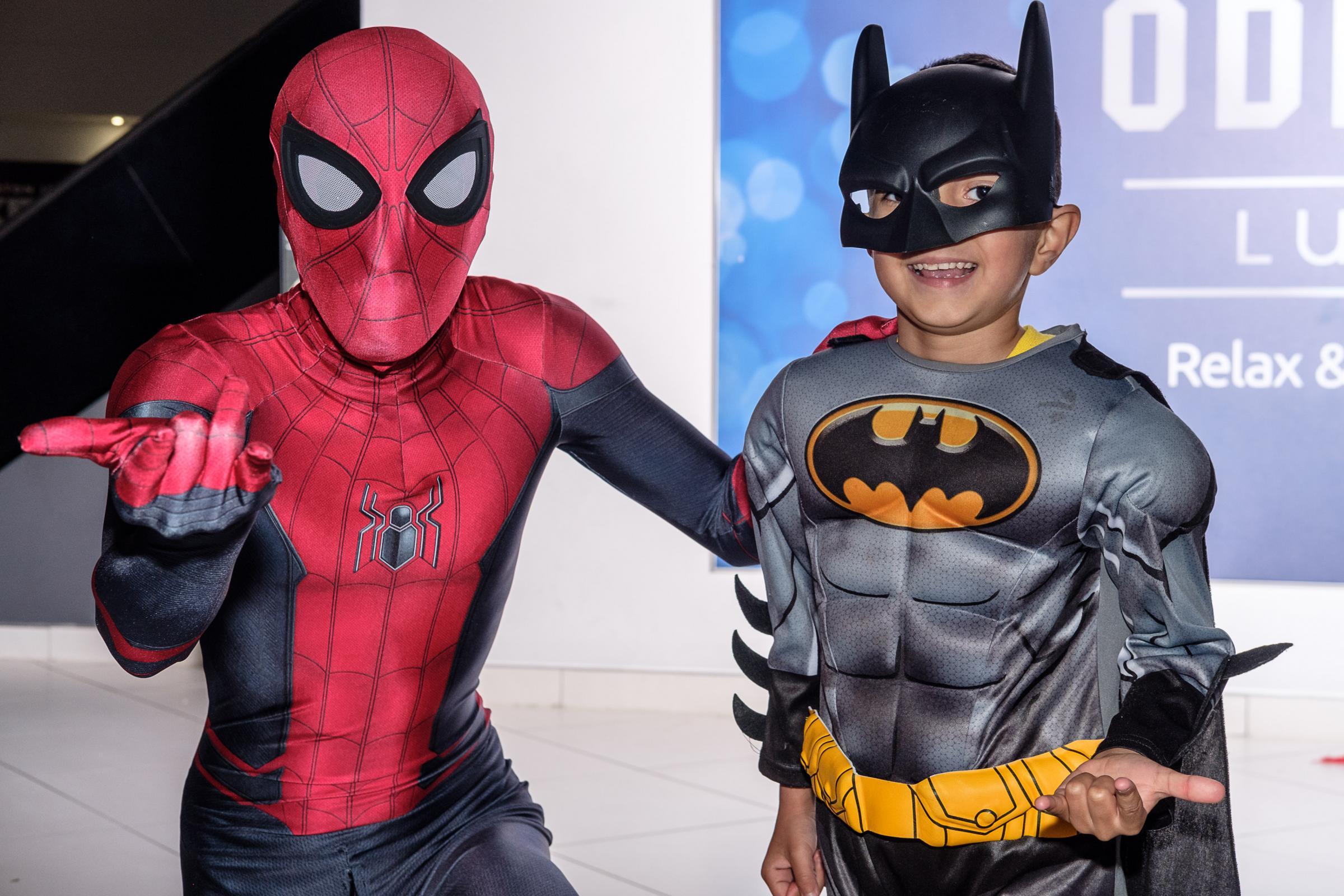 Superhero Day for Mind held at Odeon cinema, Thornbury