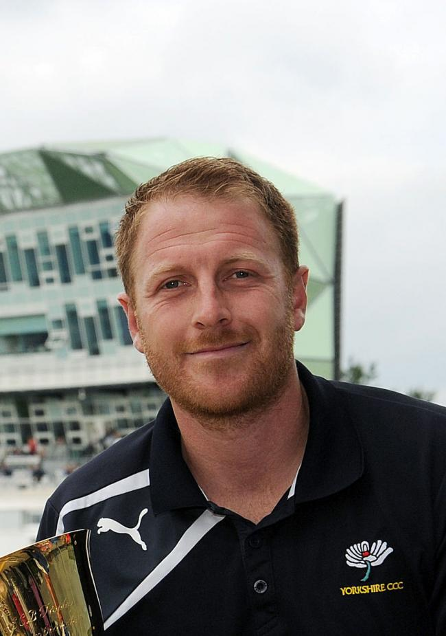 Yorkshire coach Andrew Gale