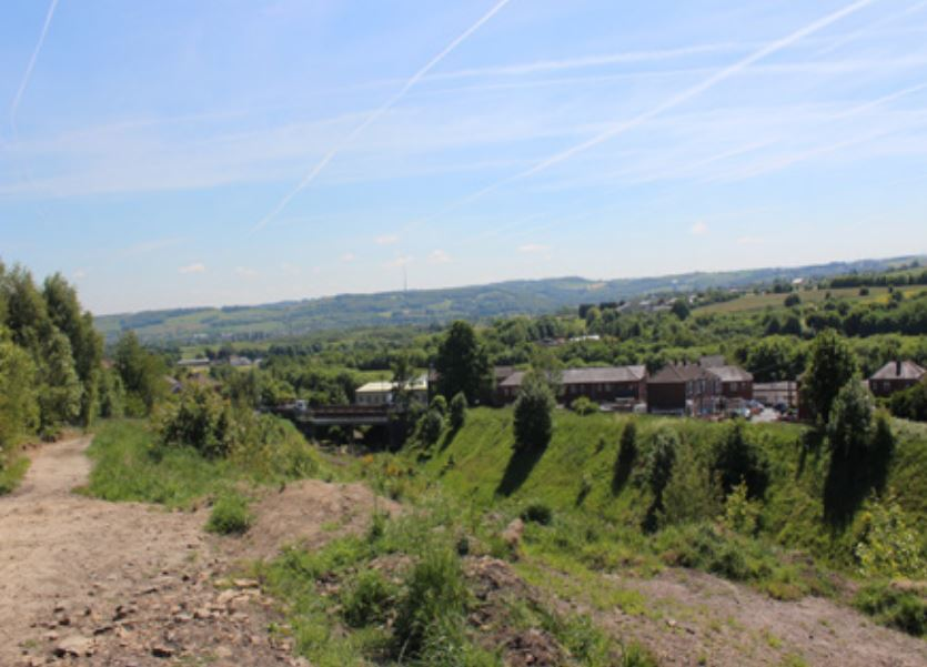 A bid to build a larger number of houses on a former railway cutting in Heckmondwike has been lost on appeal