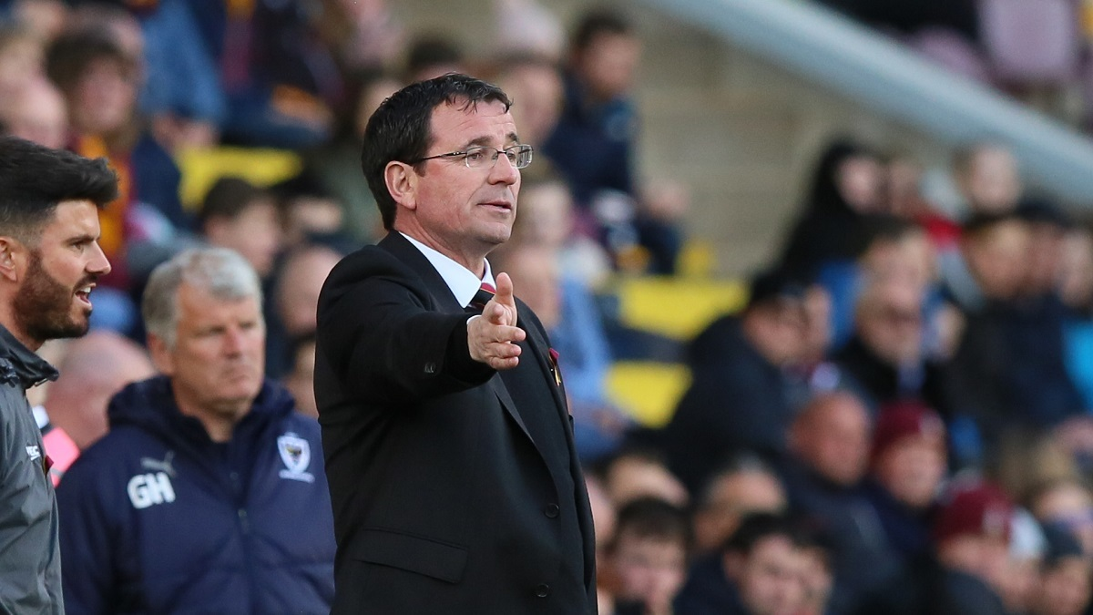 Gary Bowyer will have individual meetings with the City squad today. Picture: Thomas Gadd
