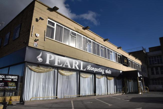 A third retrospective plan for the Pearl Banqueting Suite on Manningham Lane has been refused over highways concerns