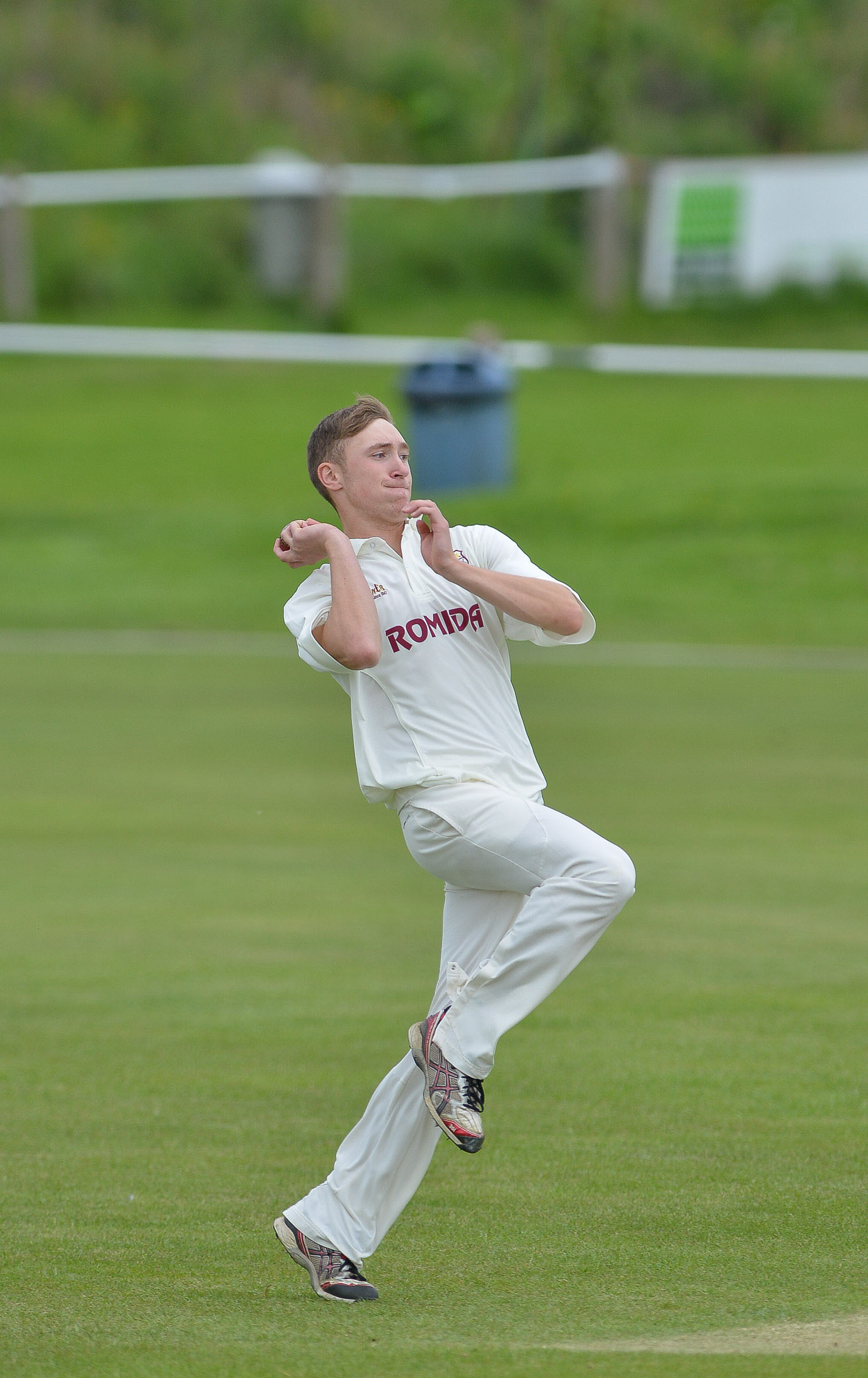 Elliot Richardson impressed with the bat for Buttershaw St Paul's