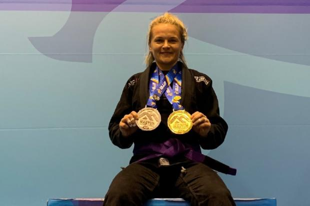 Jackie Harper was crowned IBJJF European Masters Champion after winning the prestigious event in Barcelona