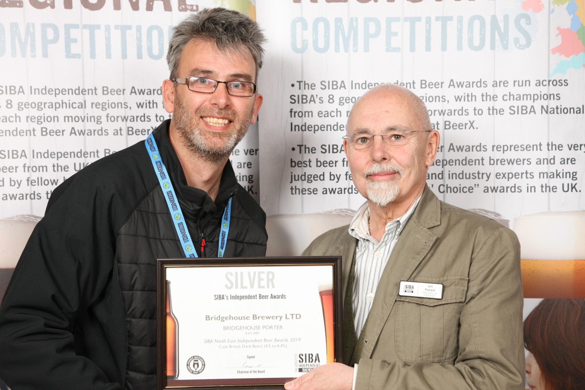 Brewery toasts awards success