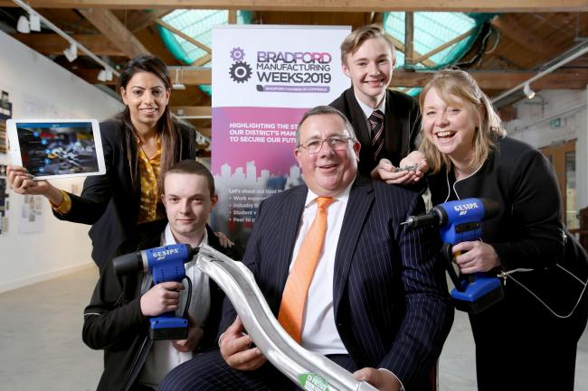 Launch of Bradford Manufacturing Weeks at Bradford College