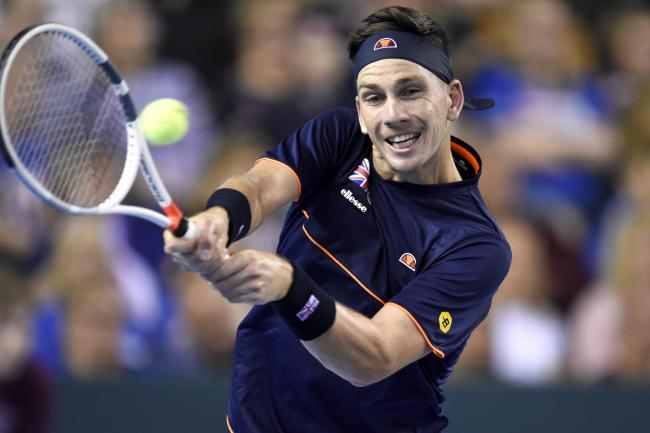 Cameron Norrie was knocked out in Rome