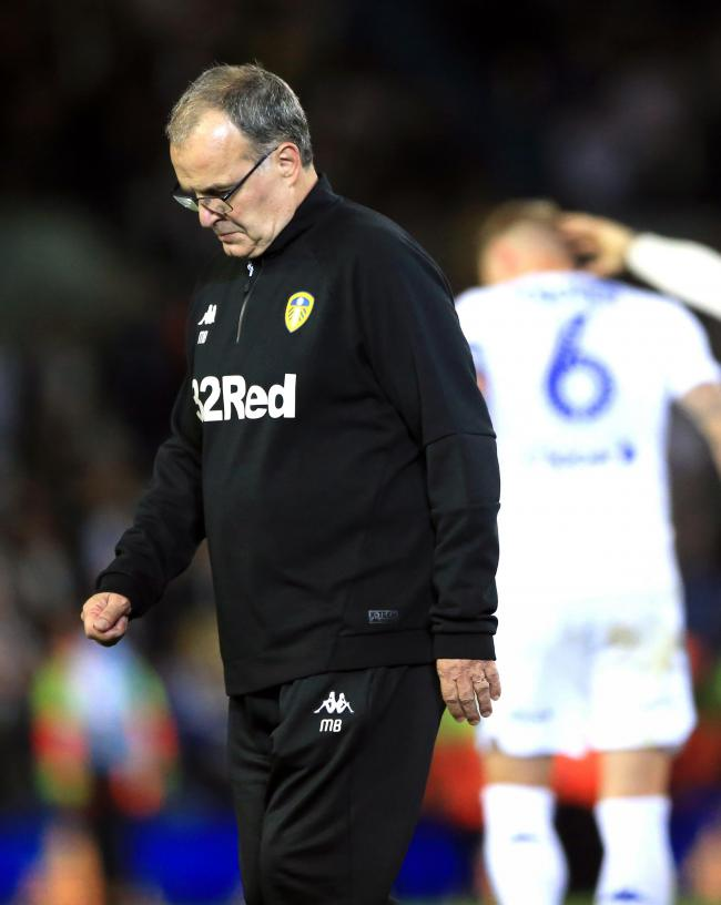 Leeds United head coach Marcelo Bielsa was left disappointed after his team crashed out of the Carabao Cup on penalties
