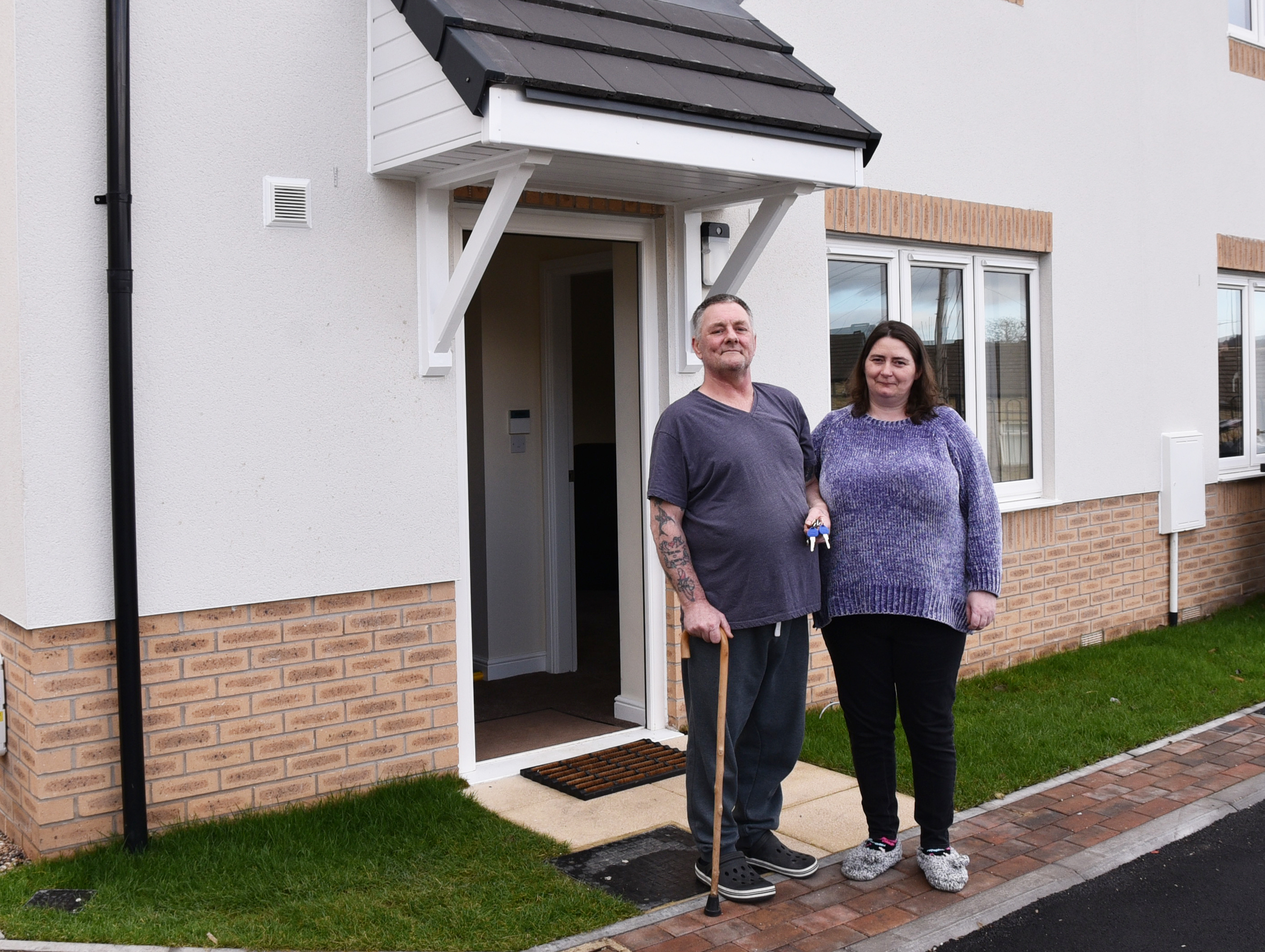 Affordable homes 'on track'
