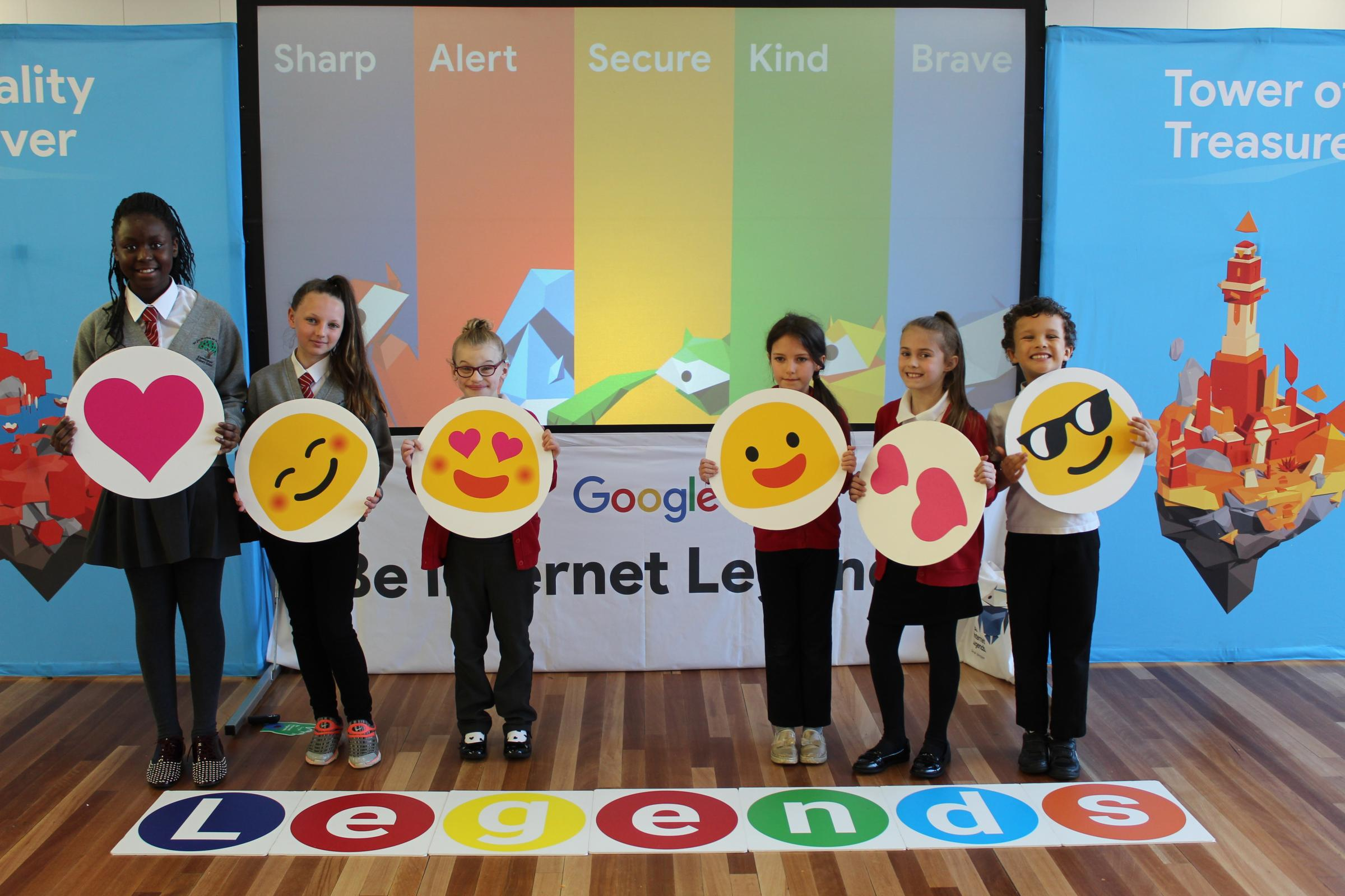 Knowleswood Primary hosts Google's Be Internet Legends event