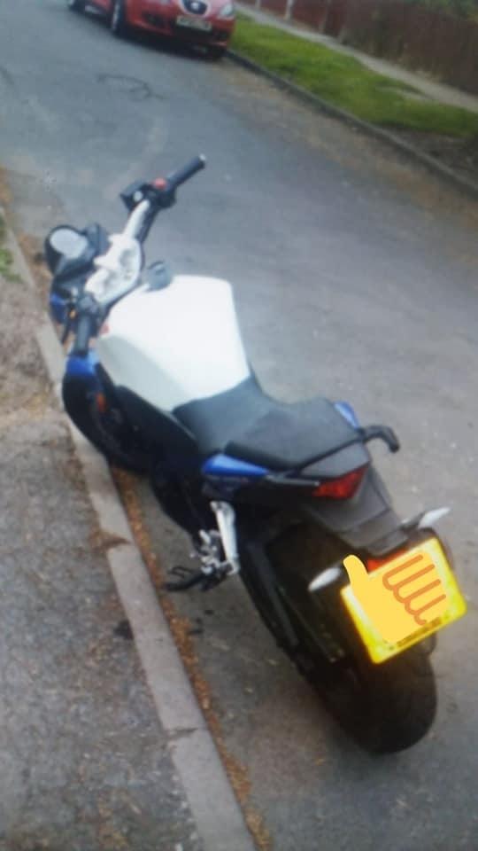 Stolen bike recovered in Lower Grange by Bradford West officers