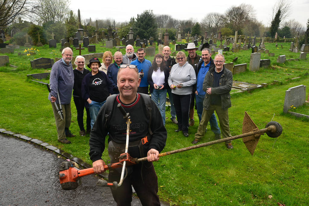 Volunteers help to preserve historic Undercliffe Cemetery for future generations
