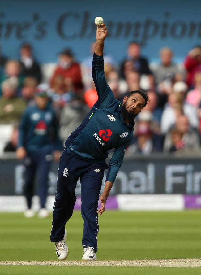 England's Adil Rashid   Picture: Nigel French/PA Wire