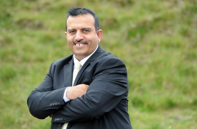 Mohammed Iqbal, leader of Pendle Council