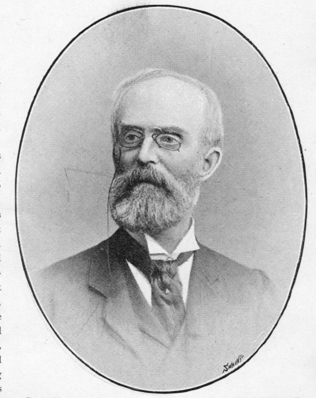 William Cudworth, from Bradford Portraits, published in 1892
