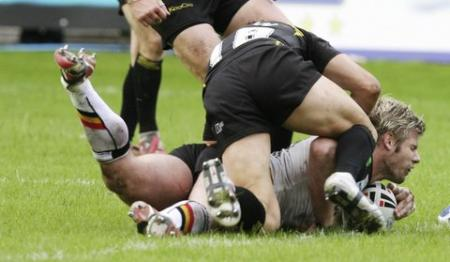 Match pictures from Bulls' game against Celtic Crusaders