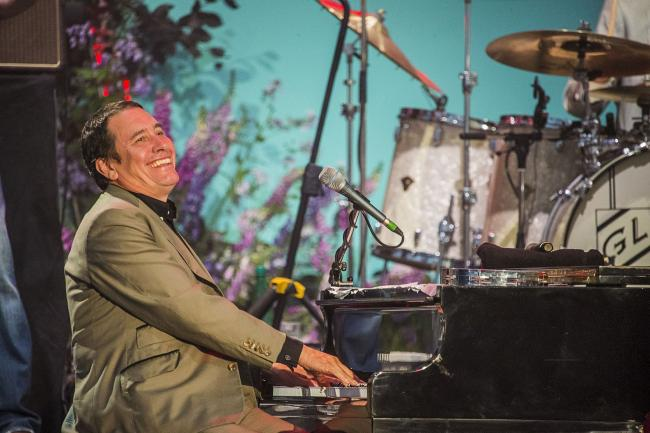 Jools Holland wowed the crowd at St George's Hall, Bradford,
