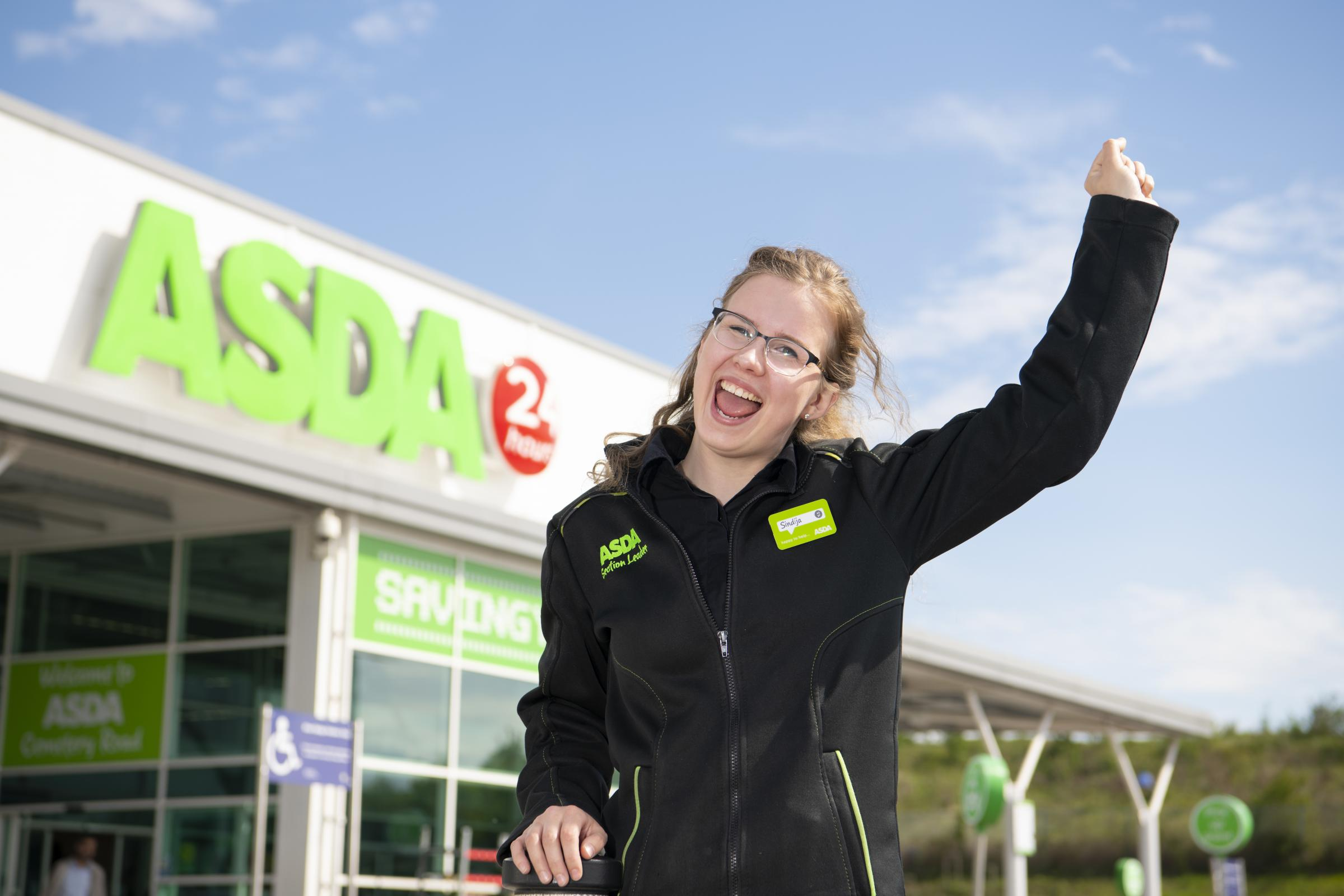 Sindija earns trip to US for top service at Asda in Bradford