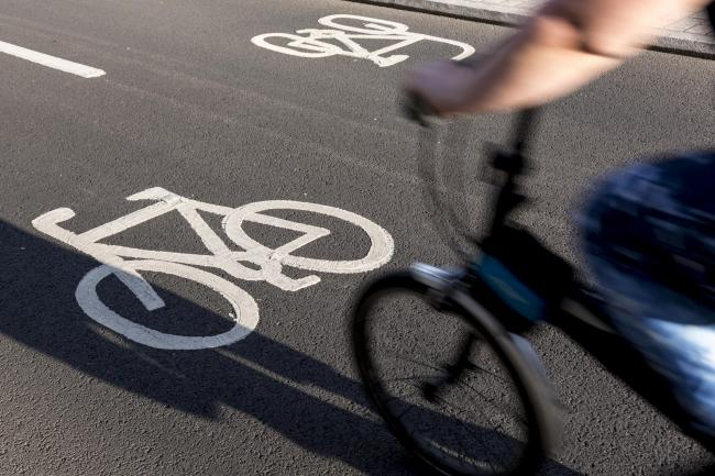 Are cycle lanes under-used?