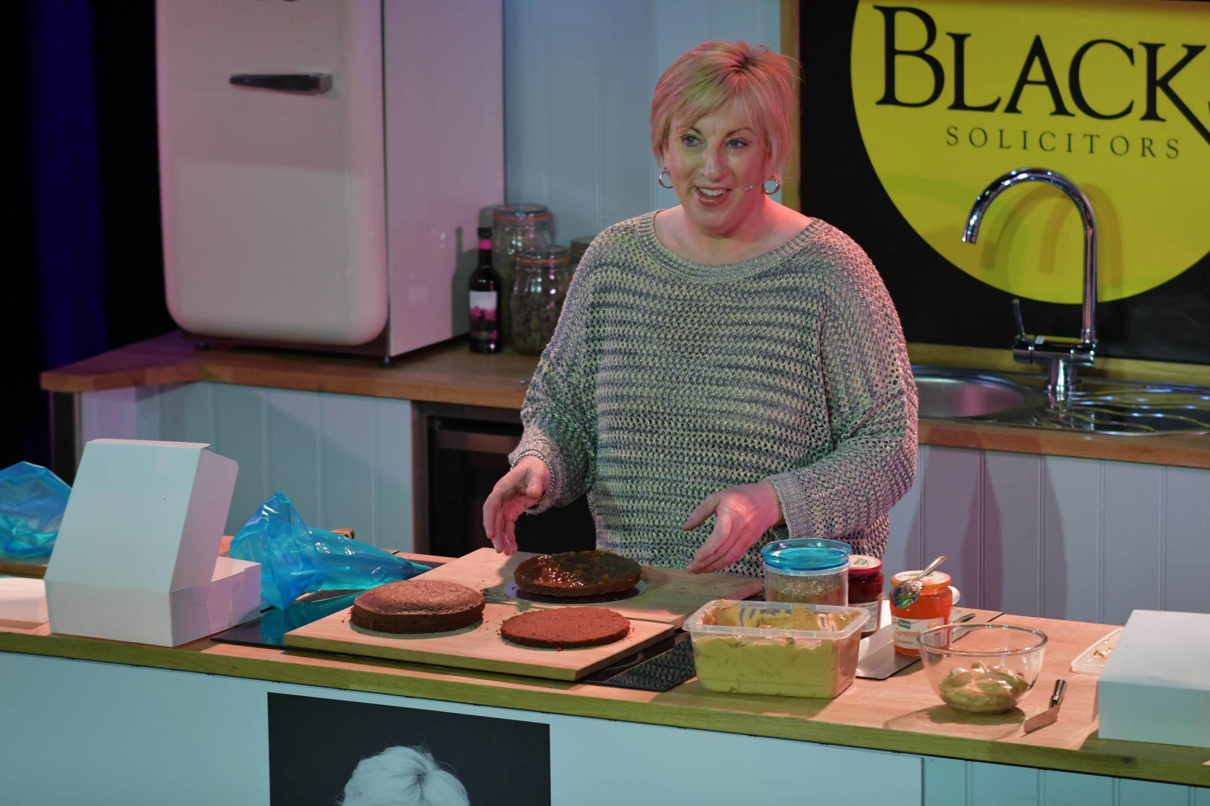 Former Great British Bake Off contestant launches book