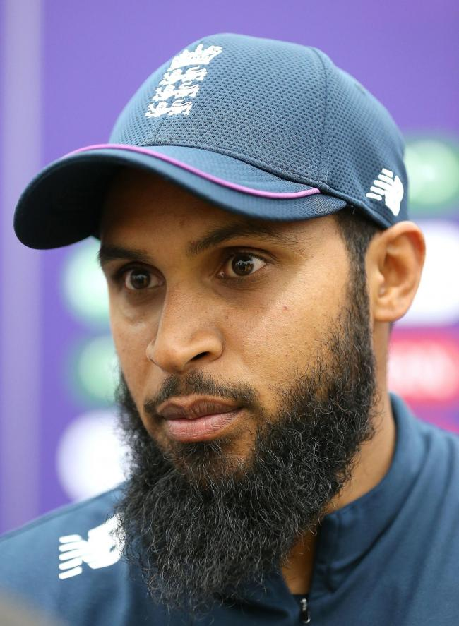 Bradford's Adil Rashid is hoping to overcome a shoulder injury   Picture: Nigel French/PA